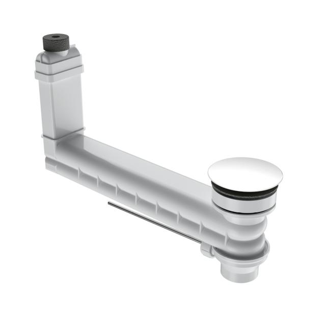 Kaldewei Clou Ab- und Überlaufgarnitur für Excenterbetätigung, rund weiß