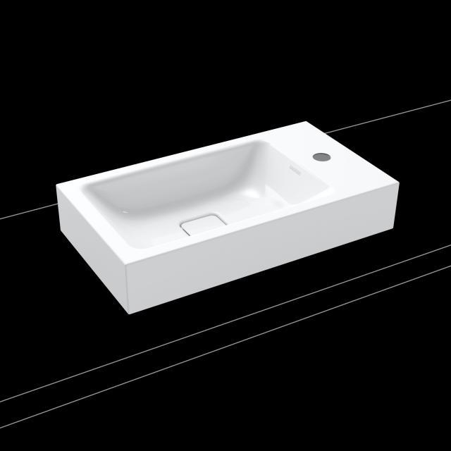 Kaldewei Cono Aufsatz-Handwaschbecken weiß, mit 1 Hahnloch