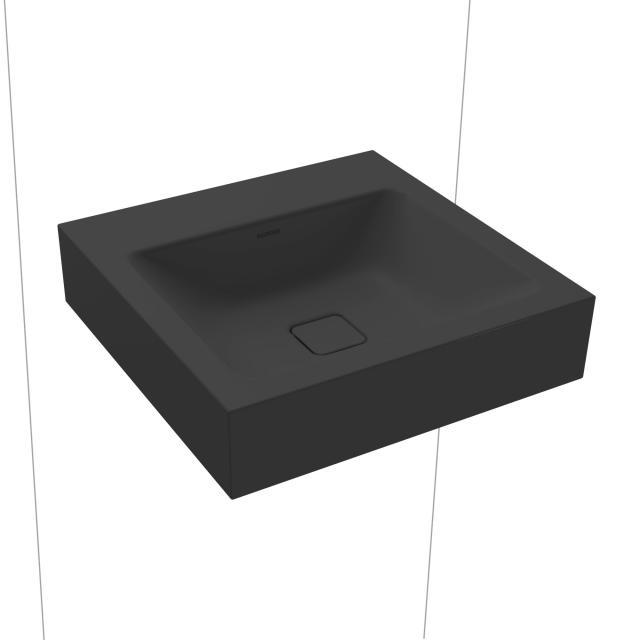 Kaldewei Cono Handwaschbecken schwarz matt, ohne Hahnloch