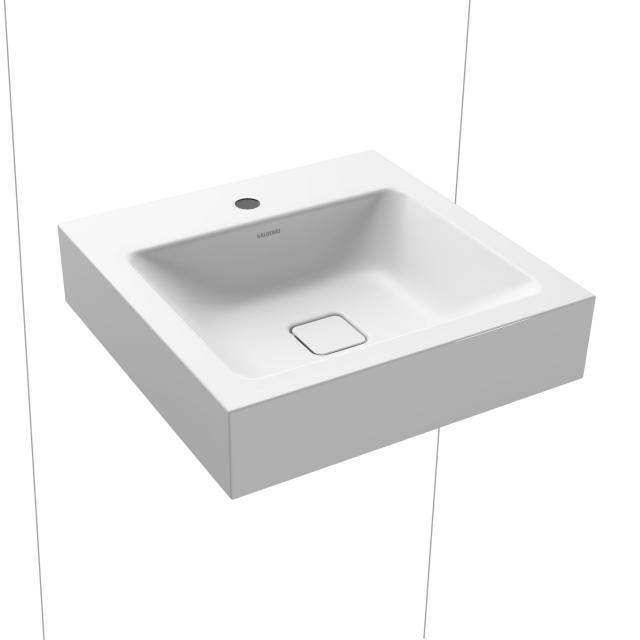 Kaldewei Cono Handwaschbecken weiß matt, mit 1 Hahnloch