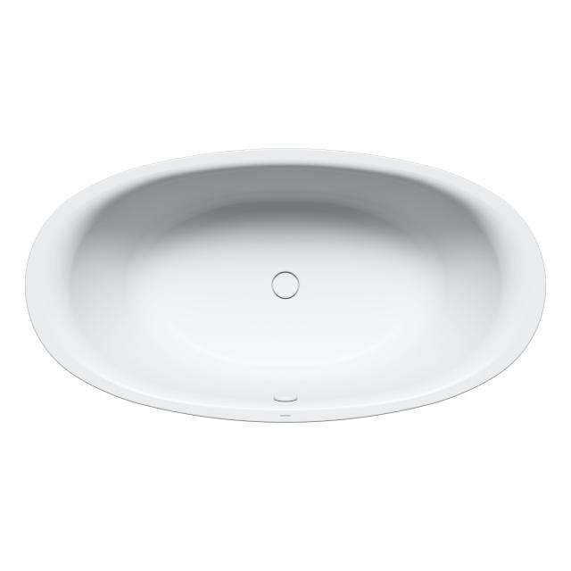 Kaldewei Ellipso Duo Oval-Badewanne, Einbau weiß