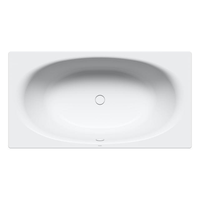 Kaldewei Ellipso Duo Rechteck-Badewanne, Einbau weiß matt