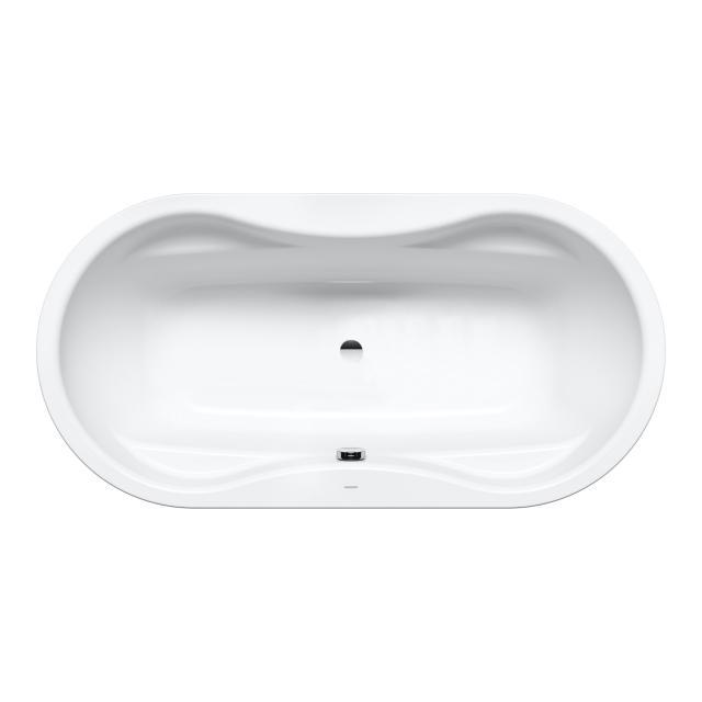 Kaldewei Mega Duo Oval-Badewanne, Einbau weiß matt