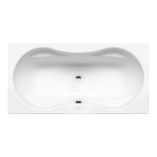 Kaldewei Mega Duo Rechteck-Badewanne, Einbau weiß