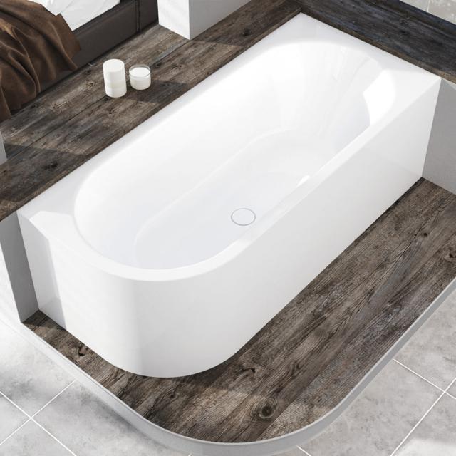 Kaldewei Meisterstück Centro Duo 1 Eck-Badewanne mit Verkleidung ohne Füllfunktion