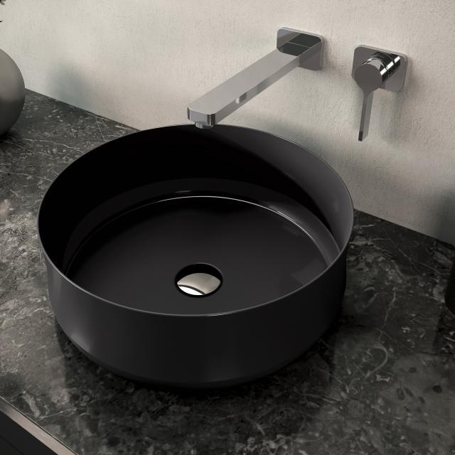 Kaldewei Ming Aufsatzwaschtisch schwarz