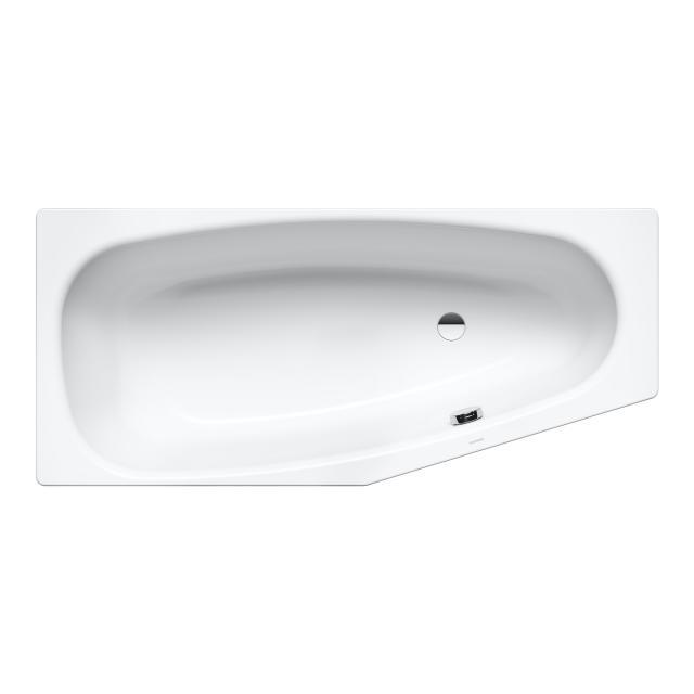 Kaldewei Mini & Mini Star Raumspar-Badewanne, Einbau weiß mit Perl-Effekt