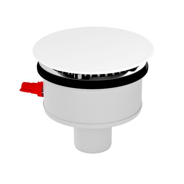 Kaldewei Professional KA 120 Ablaufgarnitur senkrecht, Komplett-Set für SuperPlan Plus weiß