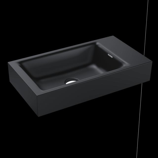 Kaldewei Puro Handwaschbecken cool grey 90, ohne Hahnloch