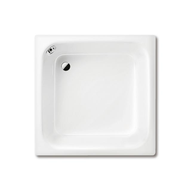 Kaldewei Sanidusch Rechteck-Duschwanne mit Überlauf weiß