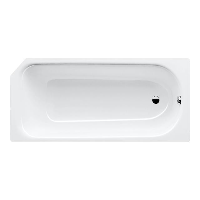 Kaldewei Saniform & Saniform Star Rechteck-Badewanne, Einbau weiß