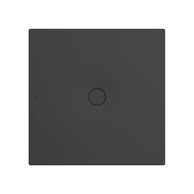 Kaldewei Scona Rechteck-Duschwanne schwarz matt