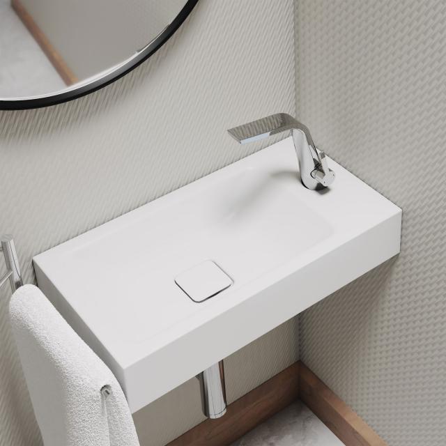 Kaldewei Set Cono Handwaschbecken mit Steinberg 260 Armatur chrom