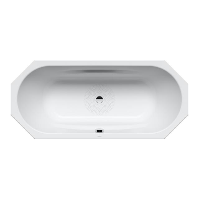 Kaldewei Vaio Duo 8 Achteck-Badewanne, Einbau Antislip, weiß mit Perl-Effekt