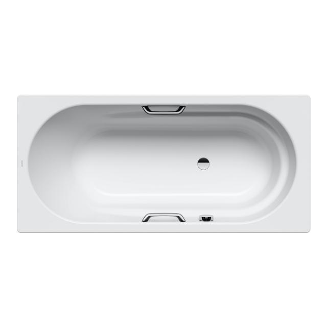 Kaldewei Vaio & Vaio Star Rechteck-Badewanne, Einbau weiß matt, für Griffmontage