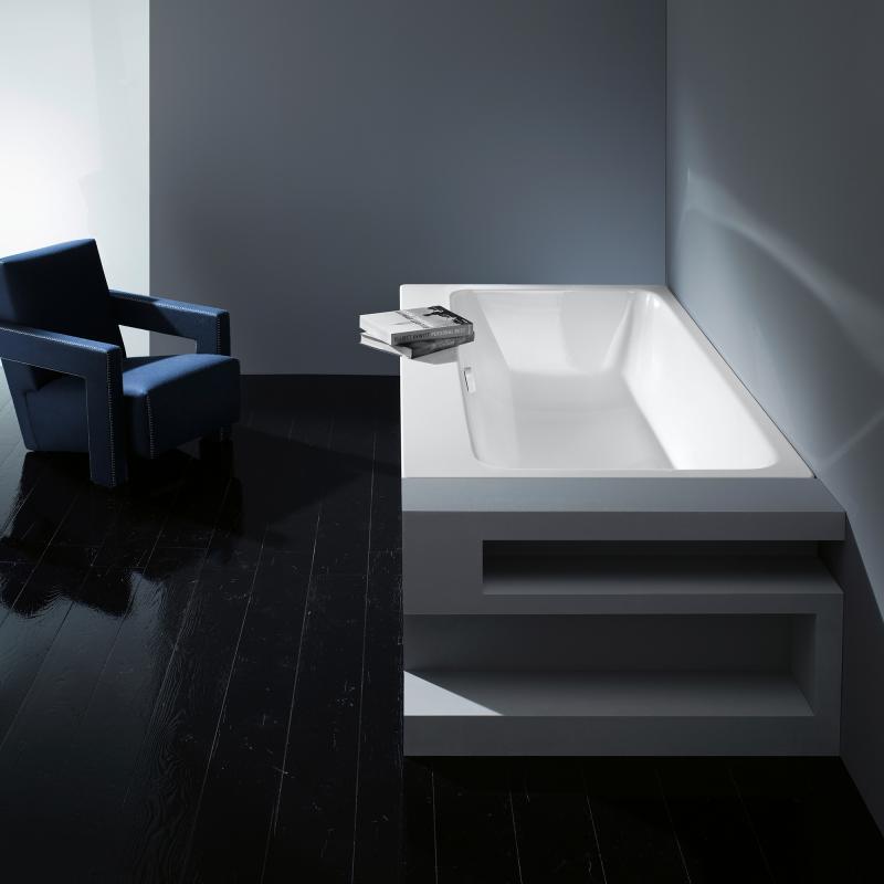 kaldewei asymmetric duo rechteck badewanne wei perl effekt 274000013001 reuter. Black Bedroom Furniture Sets. Home Design Ideas