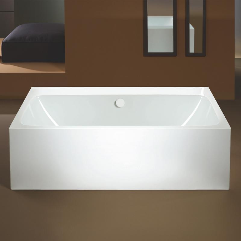 Kaldewei Meisterstück Asymmetric Duo Freistehende Badewanne ohne ... | {Badewanne mit duschzone kaldewei 22}