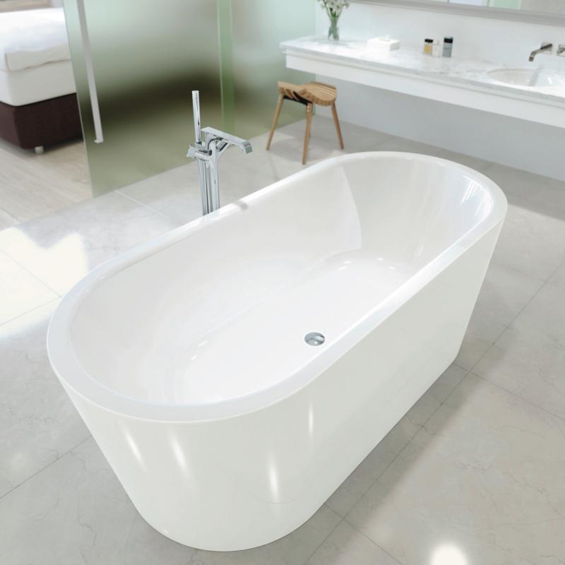 kaldewei meisterst ck classic duo oval freistehende badewanne wei 202942680001 reuter. Black Bedroom Furniture Sets. Home Design Ideas