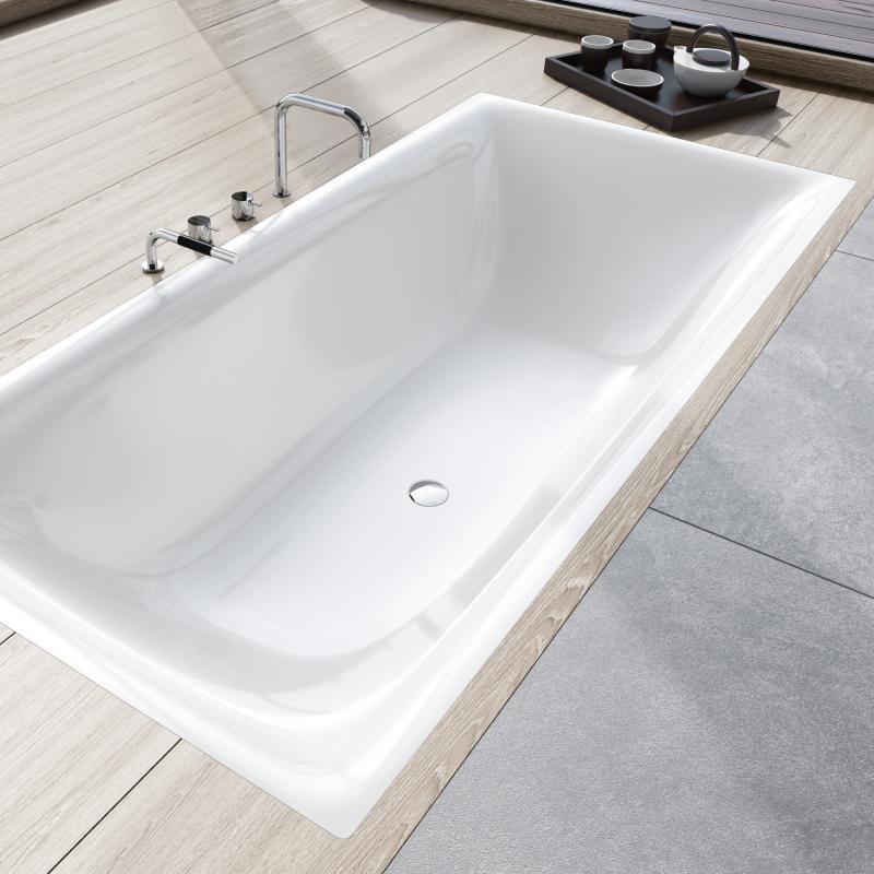 kaldewei silenio rechteck badewanne wei 267400010001 reuter. Black Bedroom Furniture Sets. Home Design Ideas