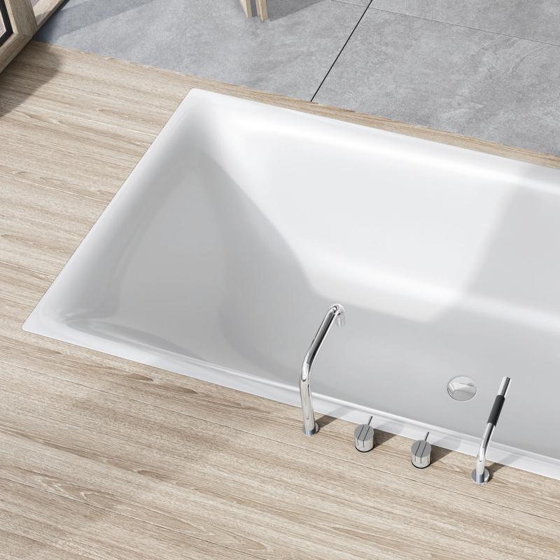 Kaldewei Silenio Rechteck-Badewanne weiß - 267400010001 | REUTER | {Badewanne mit duschzone kaldewei 35}