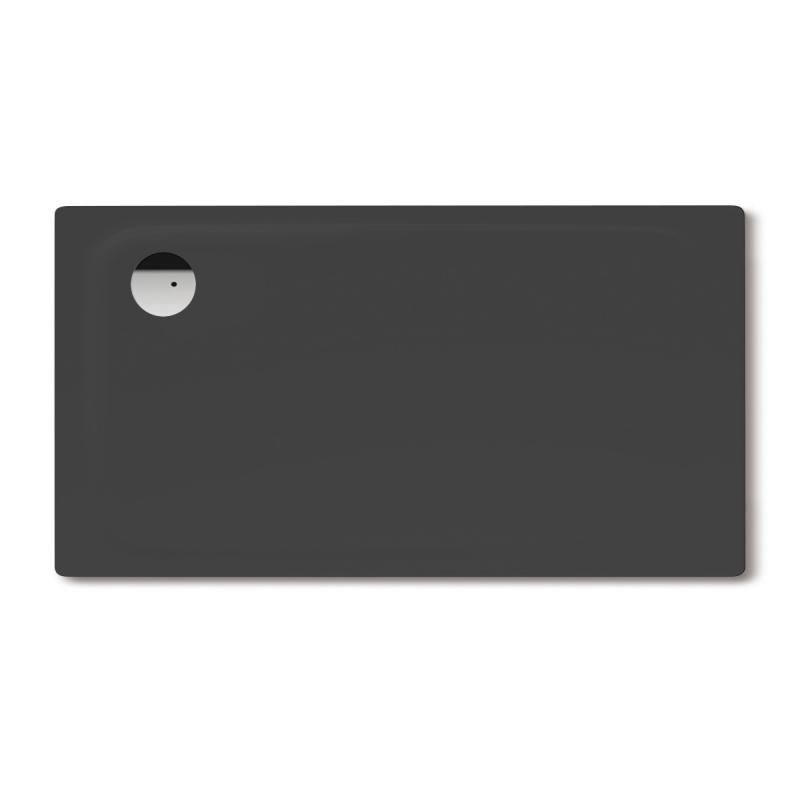 kaldewei superplan rechteck duschwanne lavaschwarz matt 430148040717 reuter. Black Bedroom Furniture Sets. Home Design Ideas