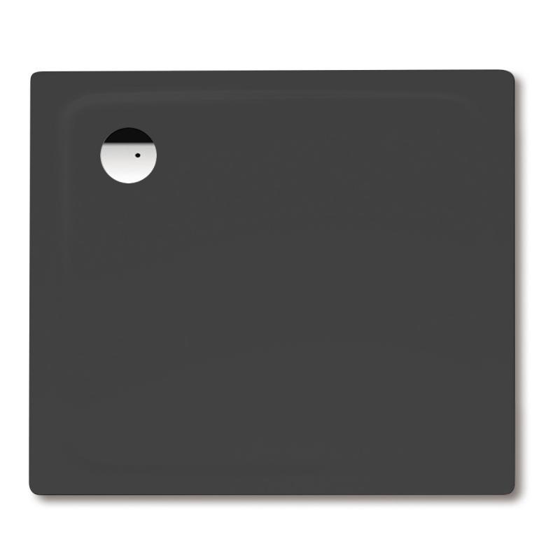 kaldewei superplan rechteck duschwanne lavaschwarz matt perl effekt 430748043717 reuter. Black Bedroom Furniture Sets. Home Design Ideas