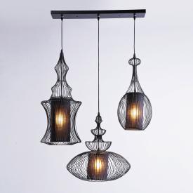 KARE Design Swing Iron Tre Pendelleuchte 3-flammig