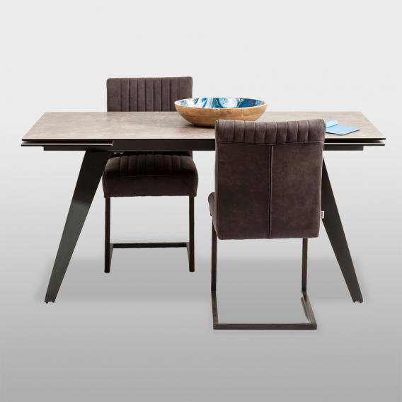 KARE Design Amsterdam Esstisch mit Auszug