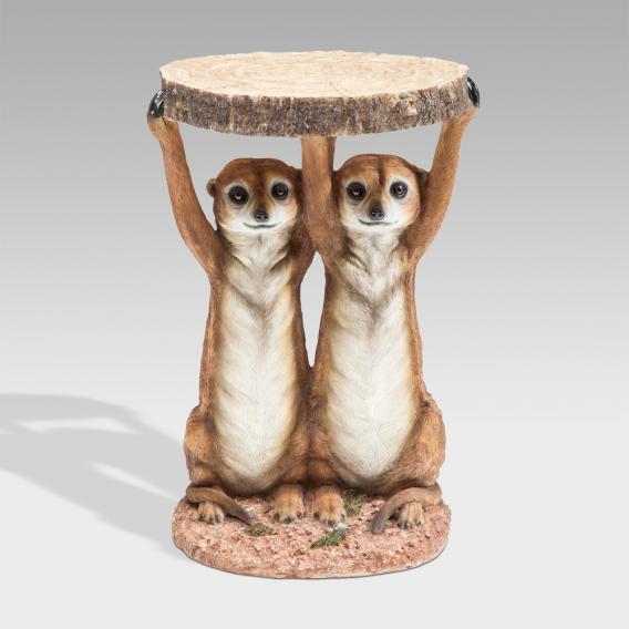 KARE Design Animal Meerkat Sisters Beistelltisch