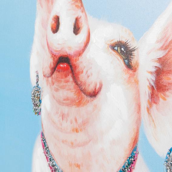 KARE Design Touched Pig Diva Bild