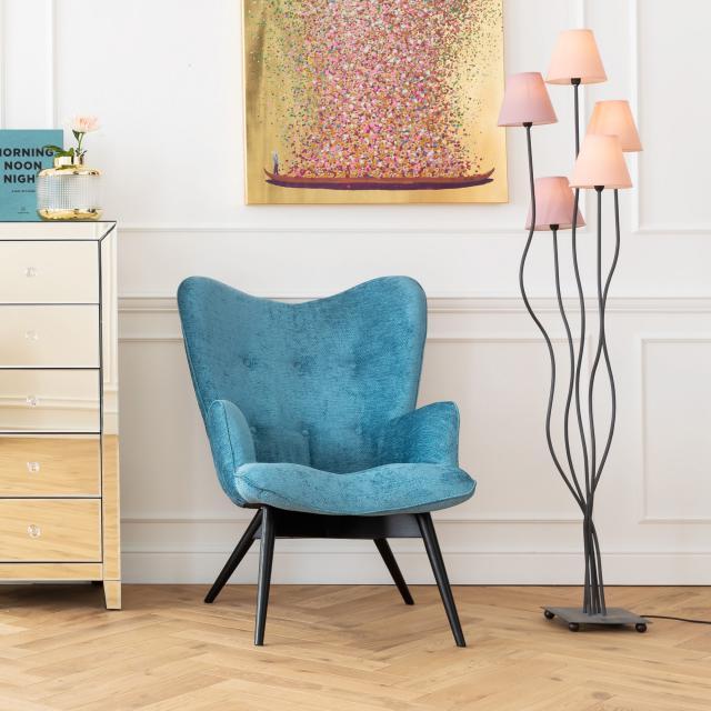 KARE Design Flexible Berry Cinque Stehleuchte