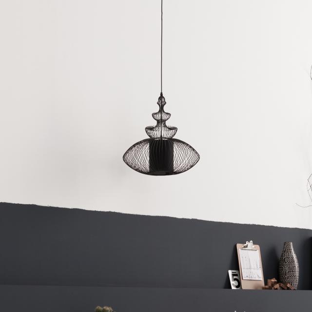 KARE Design Swing Iron Oval Pendelleuchte