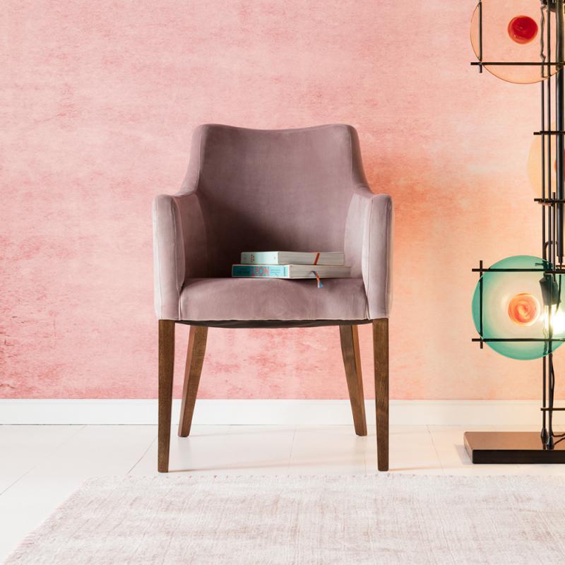 KARE Design Mode Stuhl Mit Armlehnen