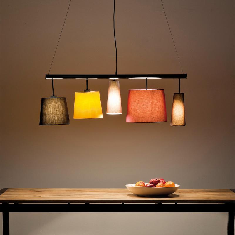Kare Design Leuchten kare design parecchi colore pendelleuchte 5 flammig 35777 reuter