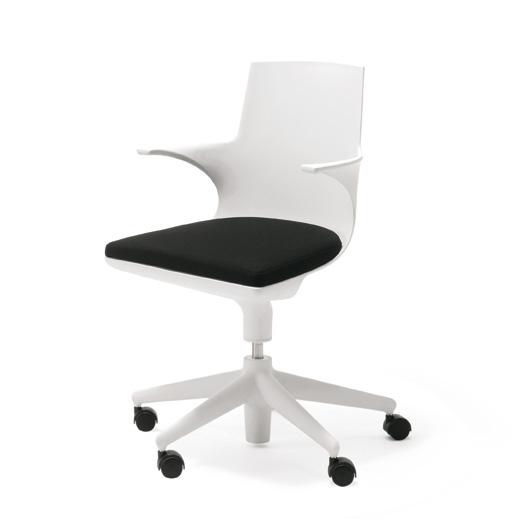 Kartell Drehstuhl kartell spoon chair drehstuhl 481903 reuter