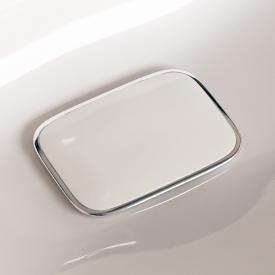 Geberit Ablaufkappe weiß/chrom zu myDay Waschtischen