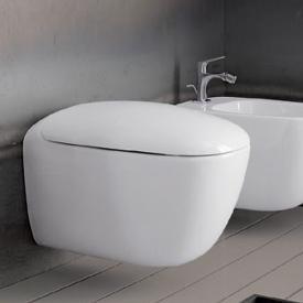 Geberit Citterio Wand-Tiefspül-WC ohne Spülrand weiß mit KeraTect