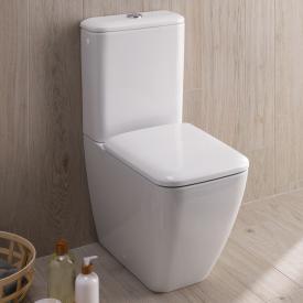Geberit iCon Square Stand-Tiefspül-WC für Kombination weiß, mit KeraTect