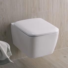 Geberit iCon Square Wand-Tiefspül-WC ohne Spülrand weiß