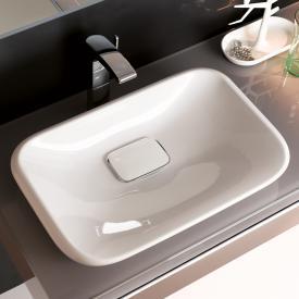 Geberit myDay Einbauwaschtisch weiß, mit KeraTect
