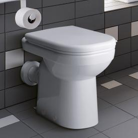 Geberit Renova Comfort Tiefspül-WC bodenstehend weiß, mit KeraTect