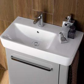 Geberit Renova Plan Waschtisch mit Ablage weiß
