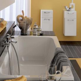 Geberit Renova Rechteck-Badewanne weiß
