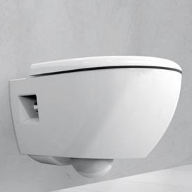 Geberit Renova Premium Wand-Tiefspül-WC ohne Spülrand weiß mit KeraTect