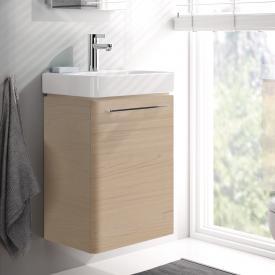 Geberit Smyle Handwaschbecken-Unterschrank Front und Korpus ulme hell