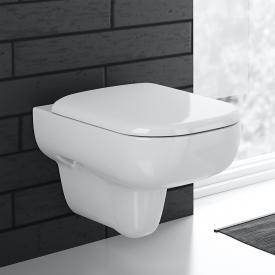 Geberit Smyle Wand-Tiefspül-WC ohne Spülrand, weiß, mit KeraTect
