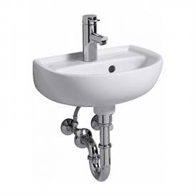 Keramag Renova Nr. 1 Handwaschbecken weiß, mit 1 Hahnloch, mit Überlauf