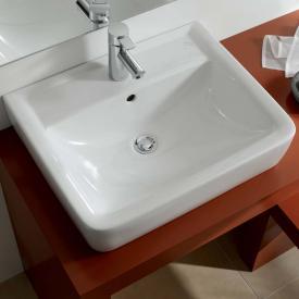 Keramag Renova Nr. 1 Plan Aufsatz-Handwaschbecken weiß, mit KeraTect