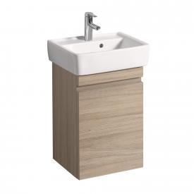 Keramag Renova Nr. 1 Plan Handwaschbecken-Unterschrank Front und Korpus ulme gebürstet