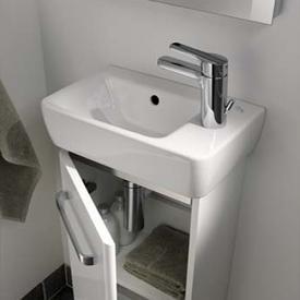 Keramag Renova Nr. 1 Comprimo Handwaschbecken mit Ablage weiß